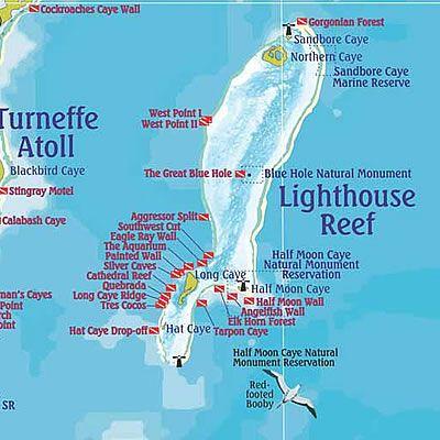 map-of-belize-belize-diving