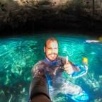 Cenote dos Ojos o mais bonito da Riviera Maya.