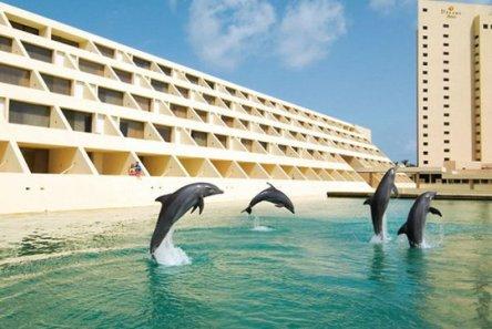 Piscina dos golfinhos