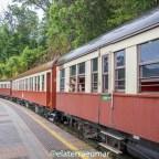 Passeio na histórica ferrovia Kuranda Scenic Railway