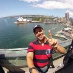 O incrível mirante do museu da Ponte Harbour Bridge em Sydney.