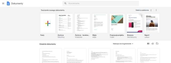 GoogleDocs Ela Wolinska, Wirtualna Asystentka