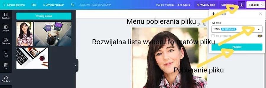 zdjęcie profilowe i zdjęcie w tle Ela Wolińska