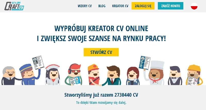 kreator CV