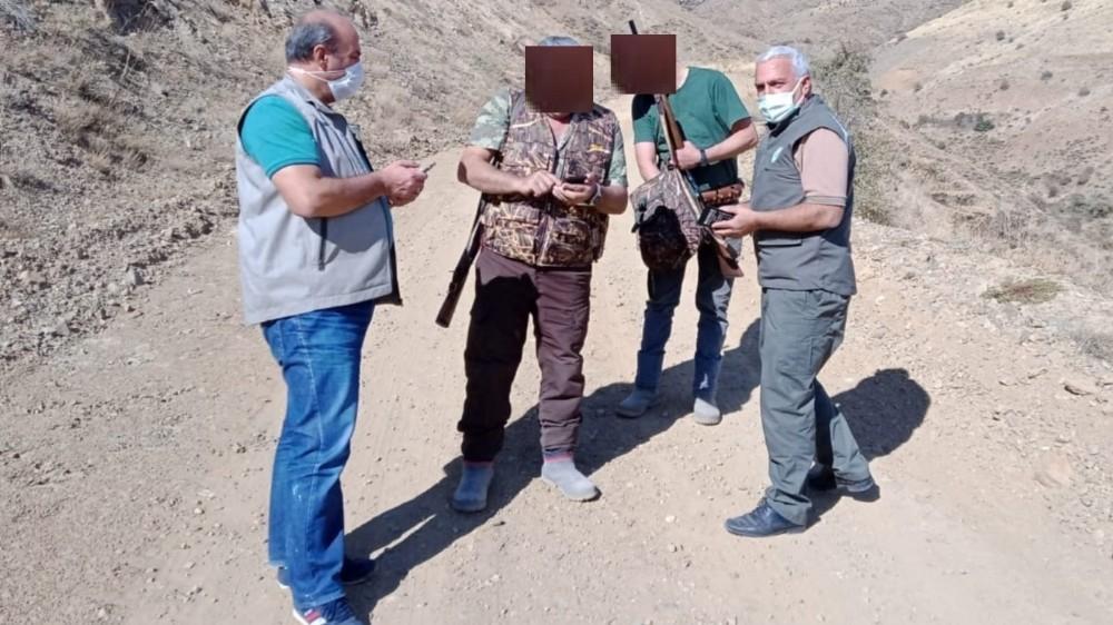Elazığ'da av denetimi, 6 şahsa yasal işlem yapıldı