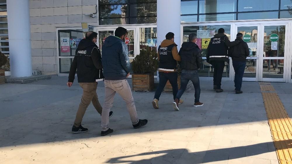 Elazığ'da uyuşturucu ile mücadele: 2 şüpheli tutuklandı