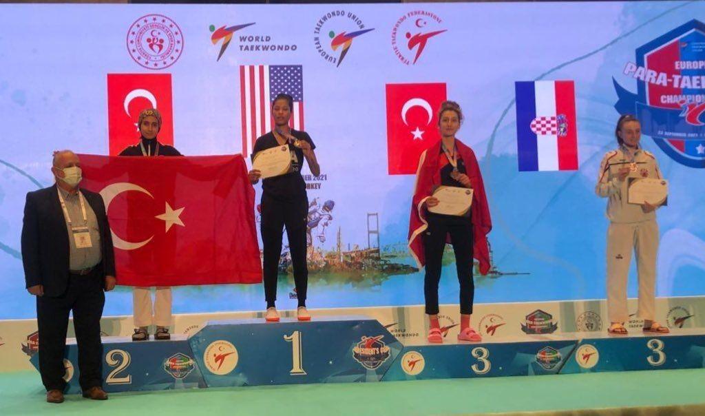 6. President Cup Europa Şampiyonası'nda 57 kiloda Gülse Polat 2. oldu