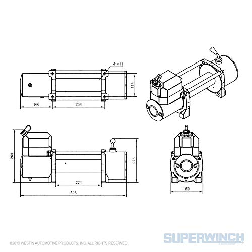 Superwinch 06724 Certus Wireless System for Tiger Shark/LP