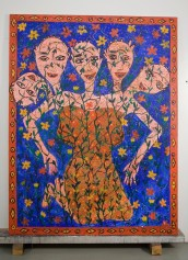 The Sisters 78(in) x 60(in) 2002 Collection of Family