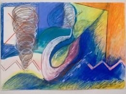 En Pastel 56(cm) x 70(cm) 1989 Collection of Family