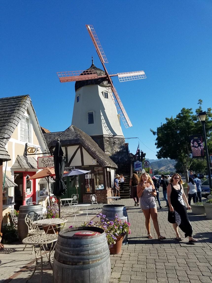 Lots of windmills in Solvang!
