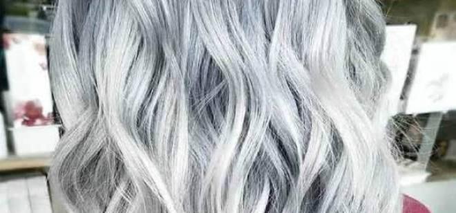 طريقة صبغ الشعر ثلجي رمادي في المنزل بخطوات سهلة