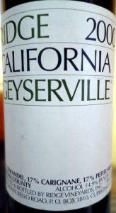 Geyserville 2000