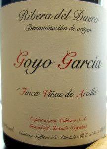 Finca Viñas de Arcilla 2010