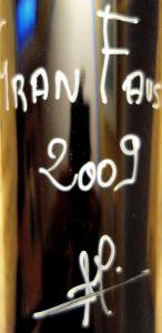 Gran Fausto 2009. Ribera del Duero