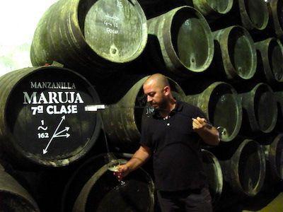 Ramiro Ibañez en la criadera de Maruja