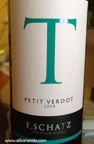T Petit Verdot 2008 F-Schatz