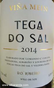 Tega do Sal 2014 blanco
