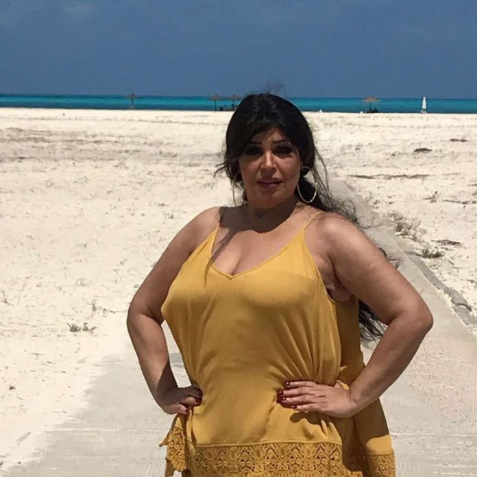 Fifi Abdo on the sea will make you die yellow: Watch