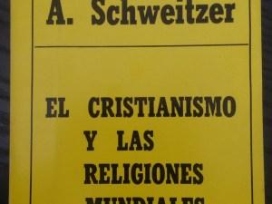 El cristianismo y las religiones mundiales