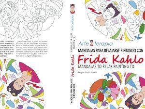 Mandalas para relajarse pintando Frida Kahlo