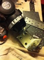 La cabeza del trípode se puede utilizar en el carro del slider