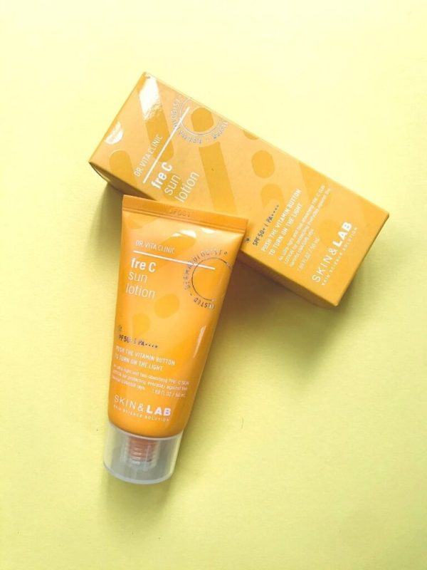 skin lab are c sun lotion