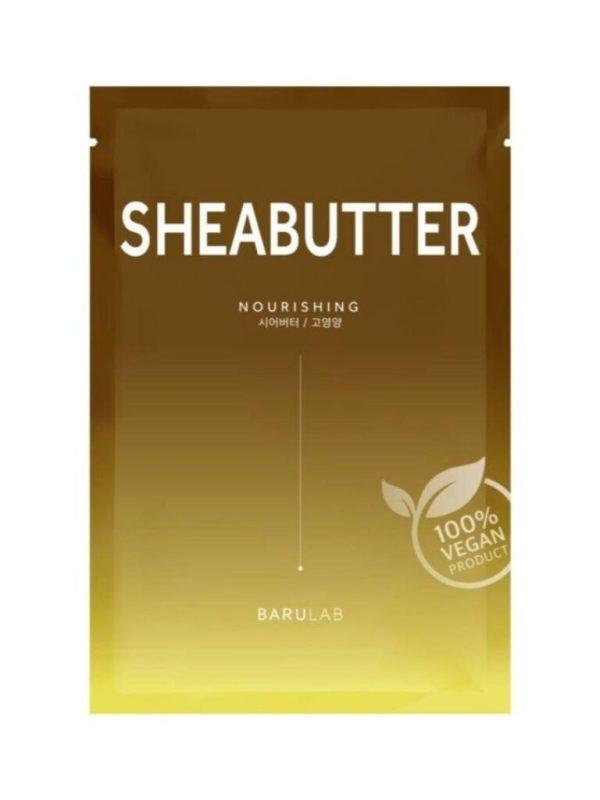 barulab the clean vegan shea butter sheet mask