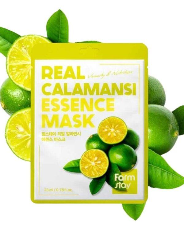 real calamansi sheet mask farmstay