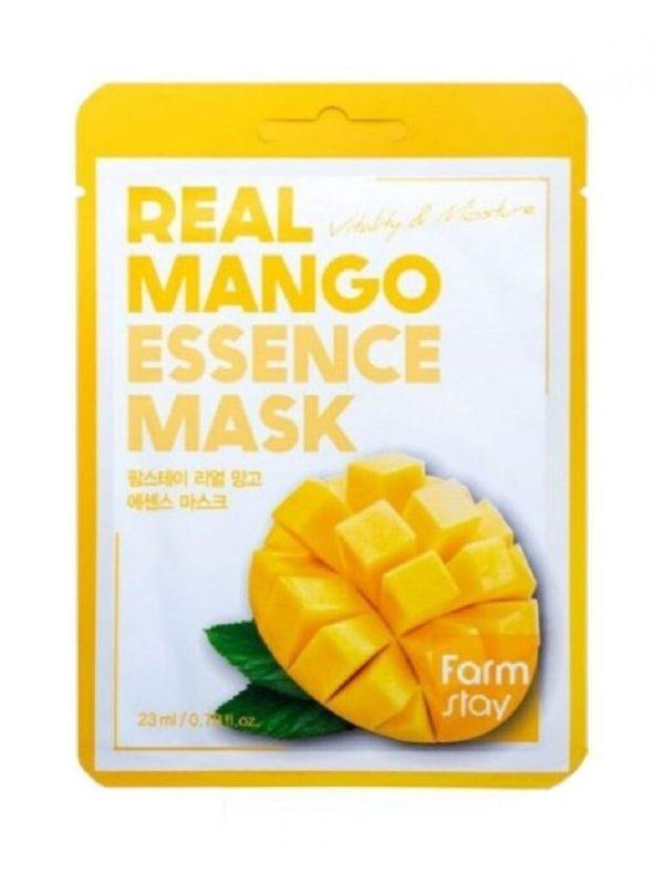 real mango essence mask sheet farmstay