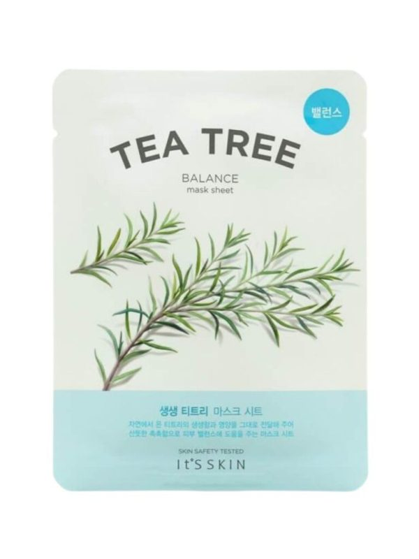 tea tree mask sheet its skin