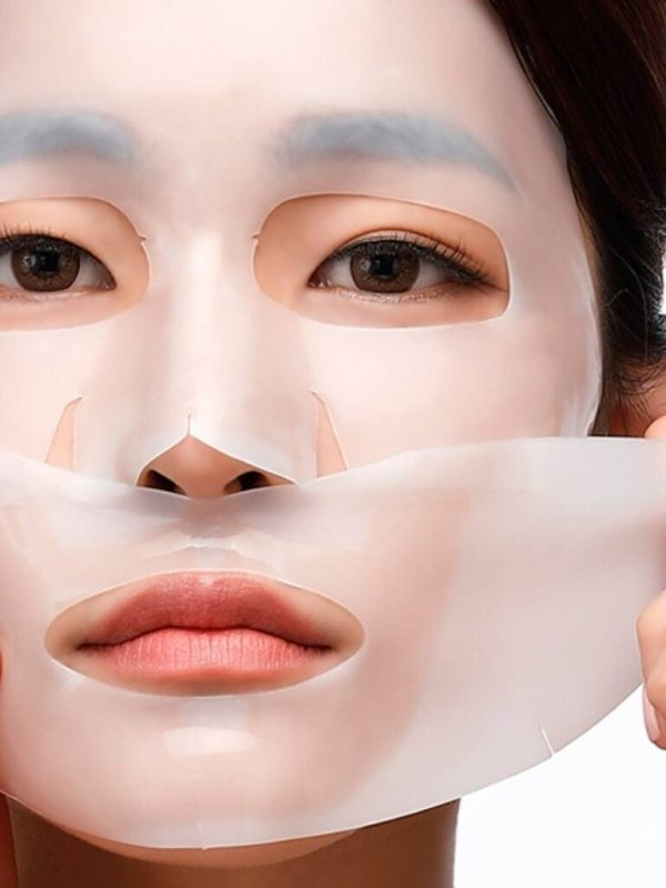 petitfee pearl shea butter hydrogel face mask pack