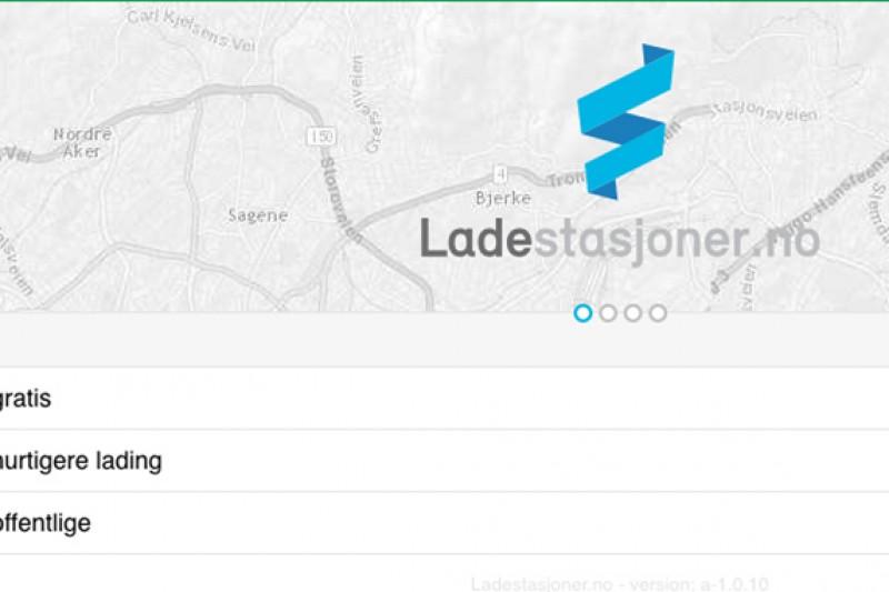 Kart Over Ladestasjoner