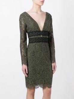 Diane Von Furstenberg Kiralık Yeşil Elbise
