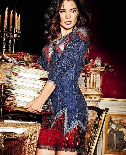 Elisabetta Franchi Kiralık Mini Kokteyl Elbisesi
