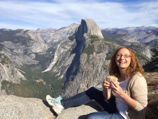 Bocata en Yosemite Park