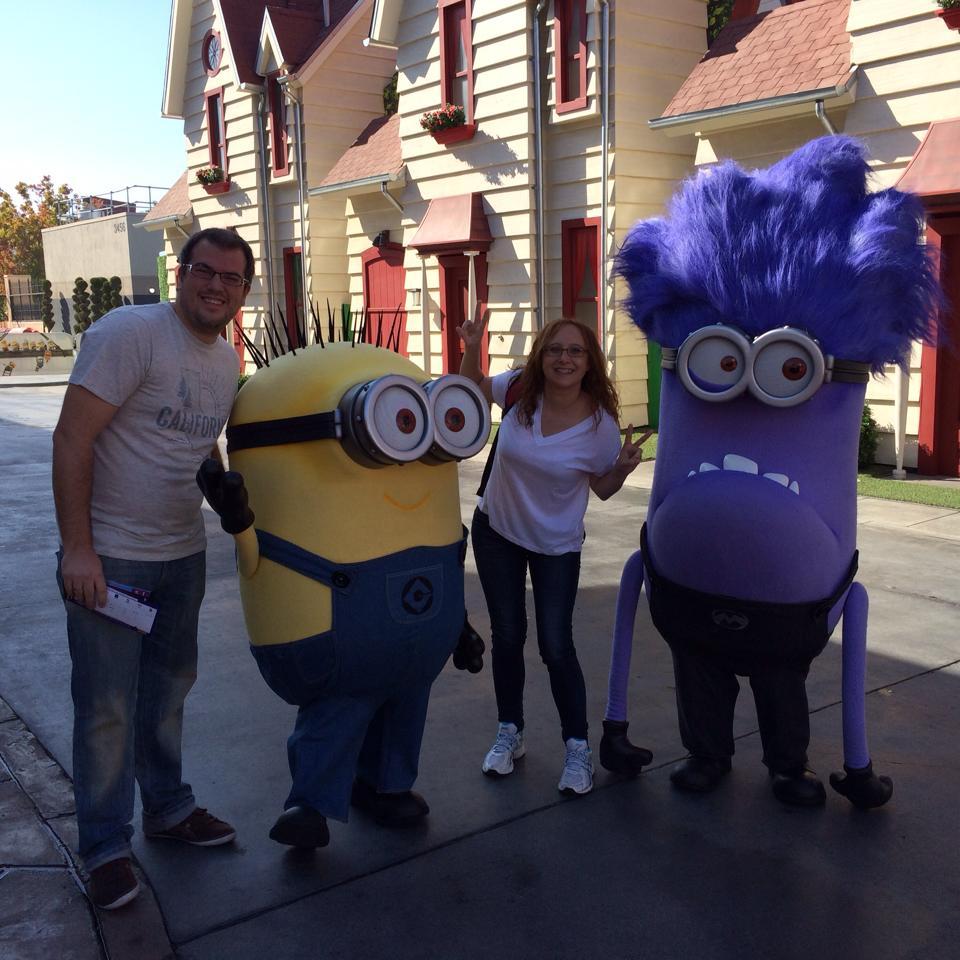 Pillamos unos Minions en Universal Studios