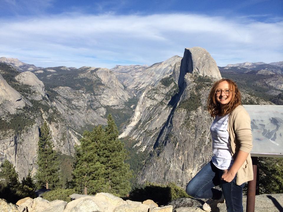 Impresionante vista de Yosemite National Park