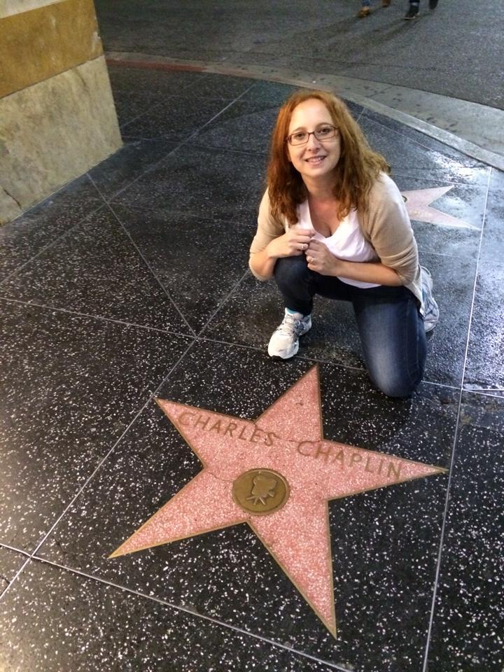 Una estrella del Paseo de la Fama - L.A.
