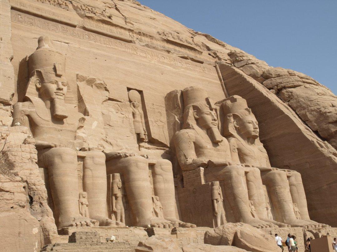 Impresionante Abu Simbel
