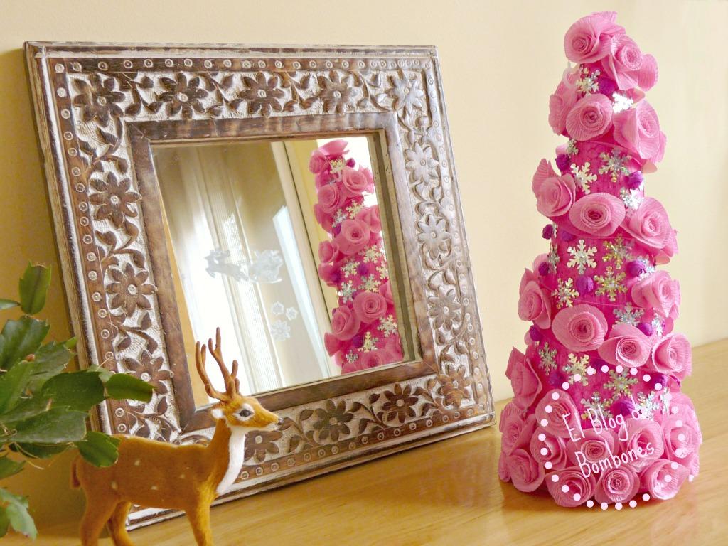 Un abeto de Navidad muy muy rosa  El Blog de Bombones