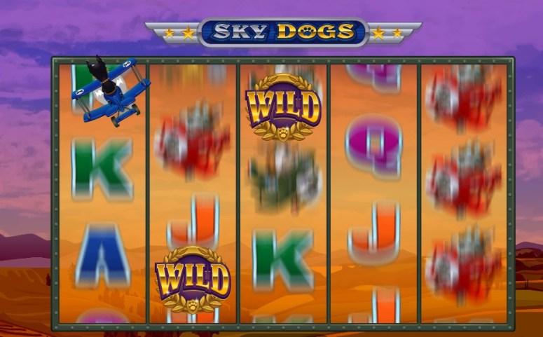 Sky Dogs símbolos Wild