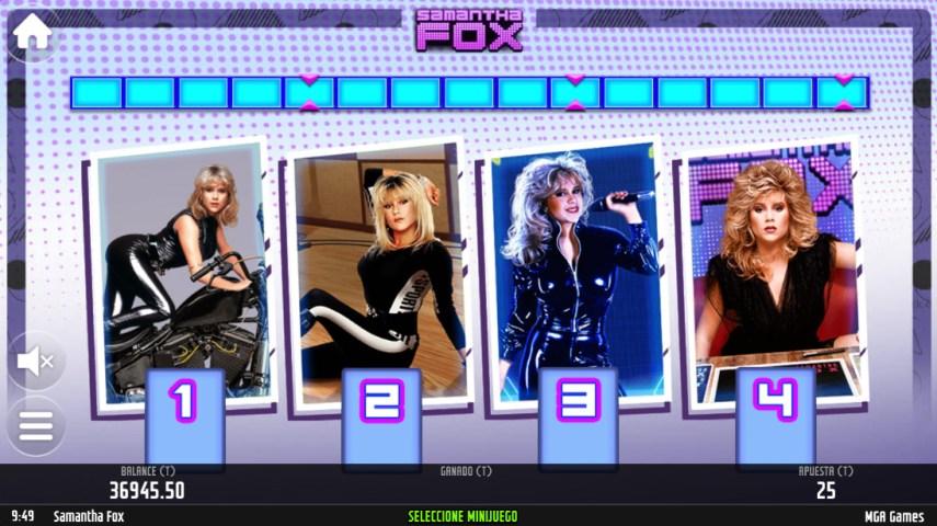 Samantha Fox regresa con un Juego de Slots