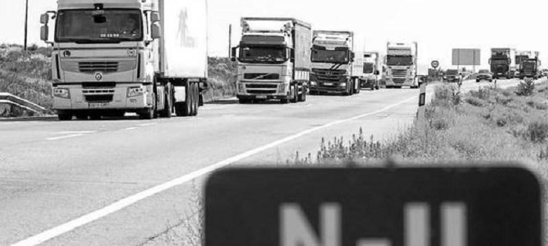 Indemnización por responsabilidad patrimonial a los afectados por la restricción de paso de camiones por la N-II.