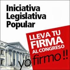 Iniciativa Legislativa Popular.