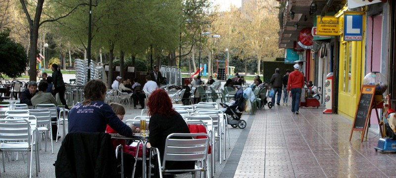 El cierre inminente de miles de terrazas en Barcelona