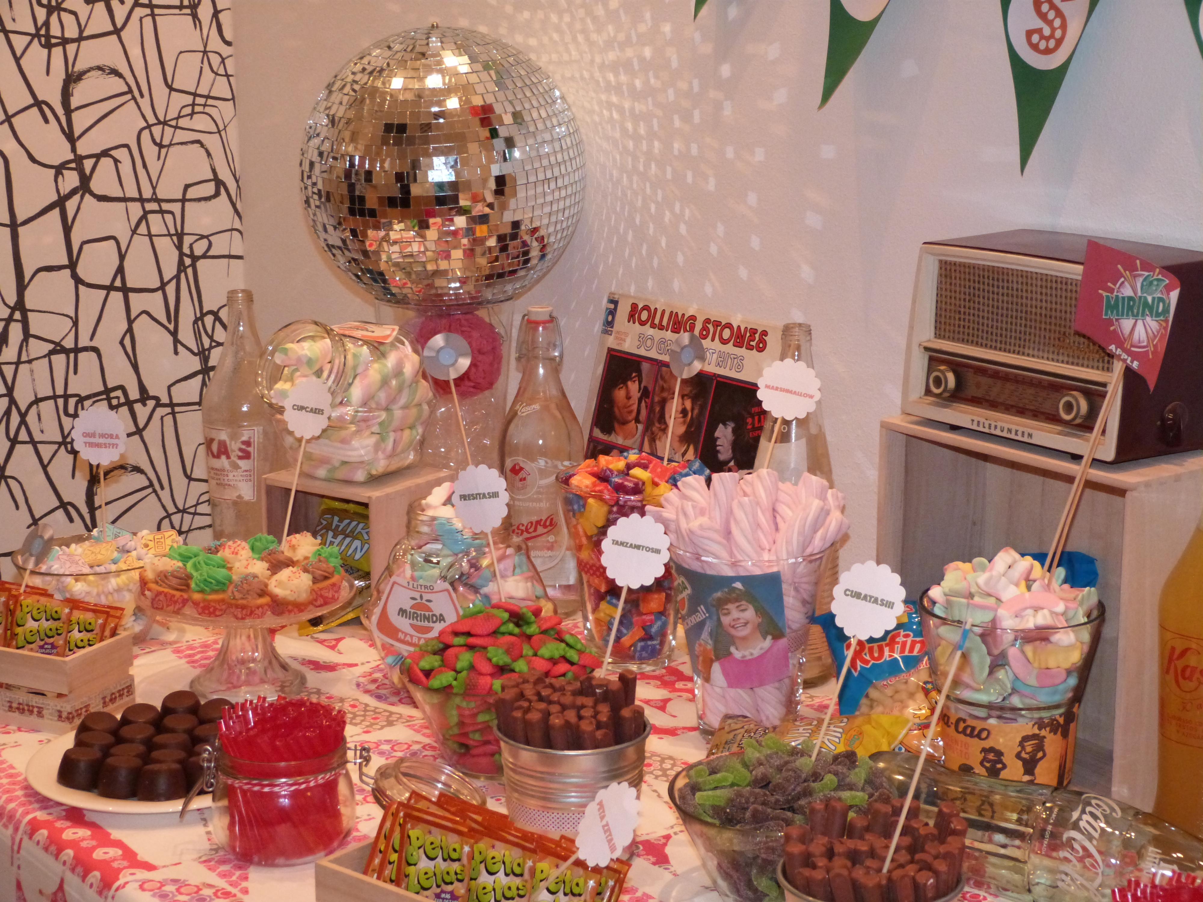 Candy Bar mesa dulce de moda  El blog de Entreventos