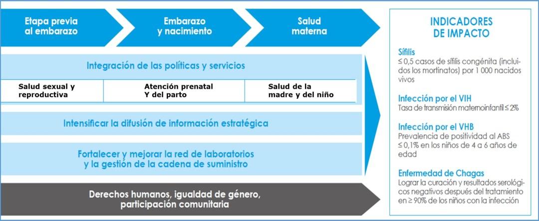 Marco conceptual de la iniciativa ETMI-PLUS para disminuir la transmisión vertical de enfermedades