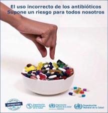El uso incorrecto crea resistencia a los antibióticos