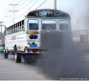 Nuestra ciudad enferma por el humo vehicular